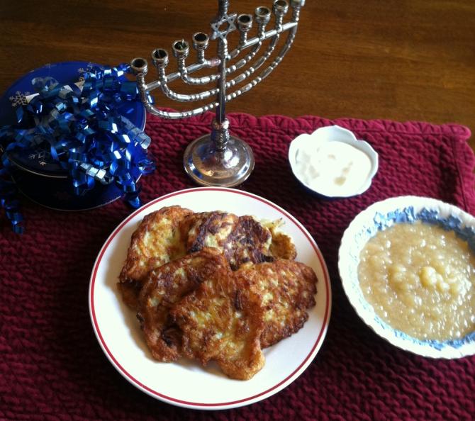 Gluten-Free Latkes for Hanukkah