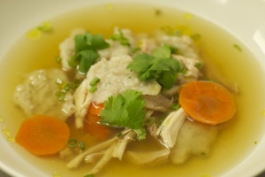 East West Chicken Dumpling Soup