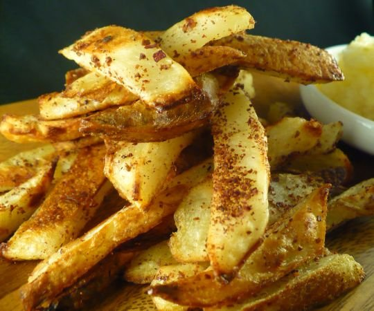 Sumac-dusted Oven Fries