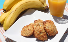 Banana Biscuits
