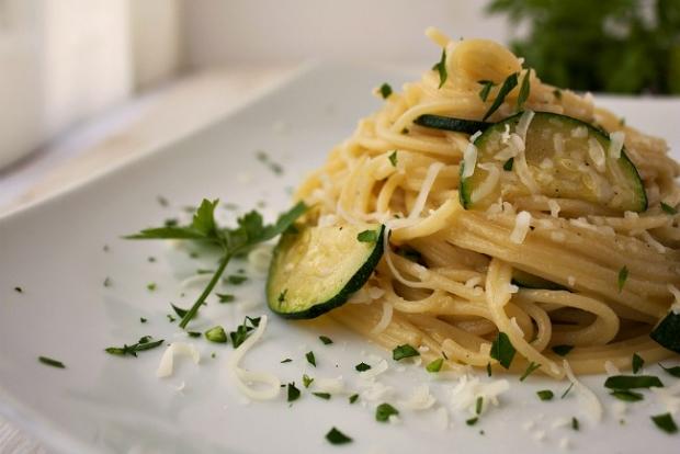 Pasta with Zucchine alla Nerano
