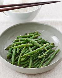 Sauteed Sesame Green Beans