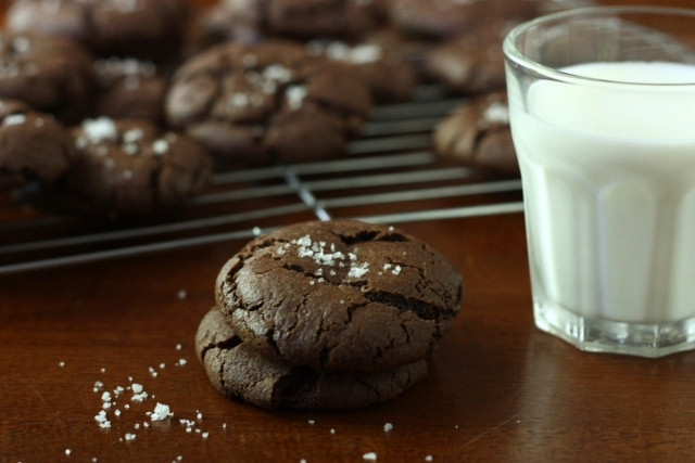 Mother's Day Chocolate Cookies