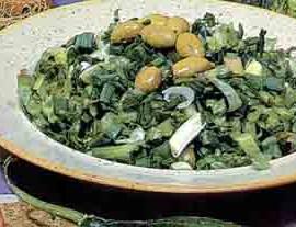 chorta-green-salad